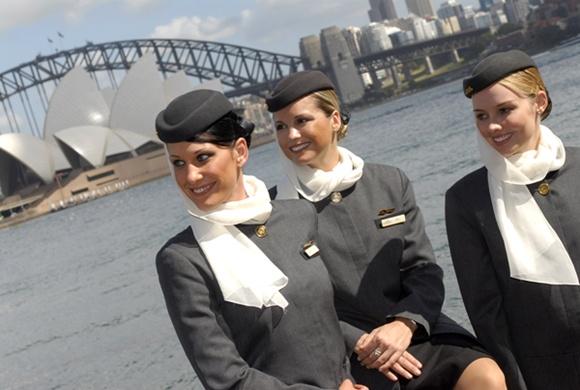 에티하드 항공 승무원 호주 취항