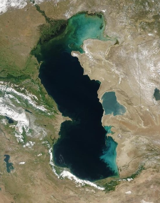 엄청난 크기의 호수, 카스피 해