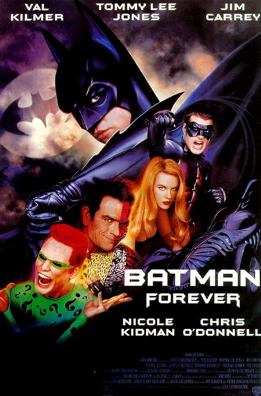 무료영화 : 배트맨 3 - 포에버  /  2009년 1월 31일 14시 정각  /  상영장소 : 안산 단원어린이도서관 지하 어울림터