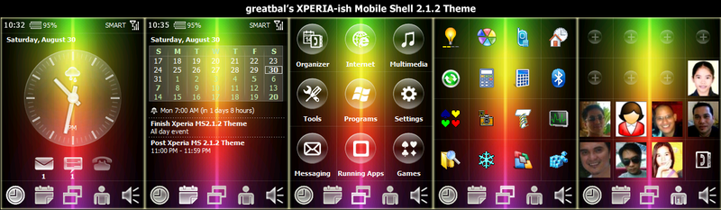 Skin Greatbal XPERIA [MS]