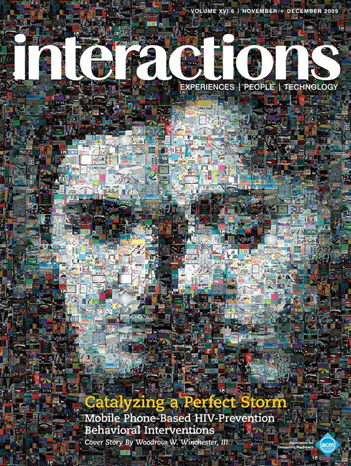 ACM Interactions 2009 11/12 - Cover