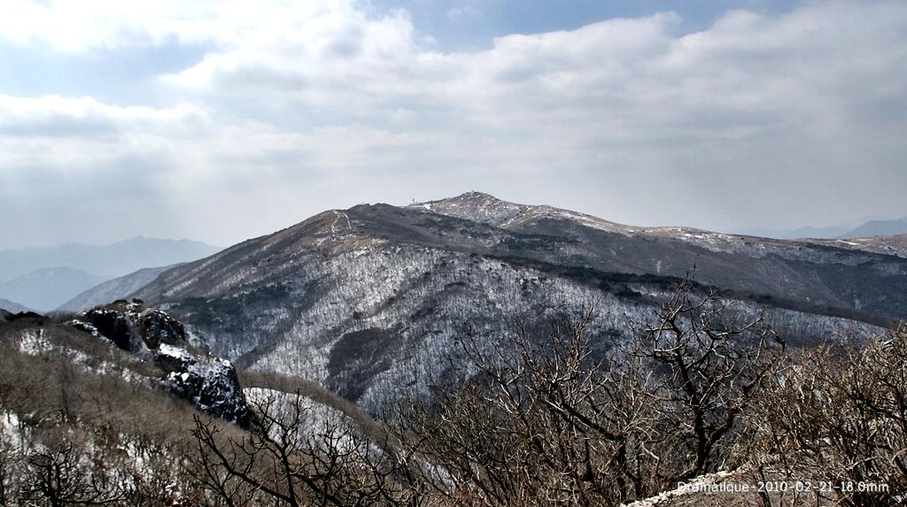 겨울 천성산