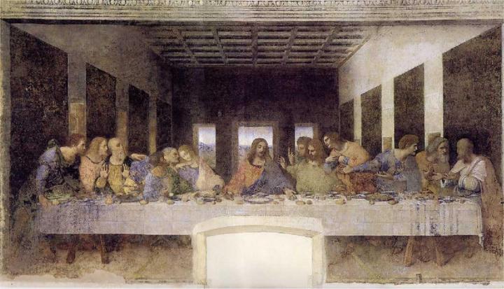 레오나르도 다빈치의 최후의 만찬 로스트 버전(미국 인기 TV 시리즈)