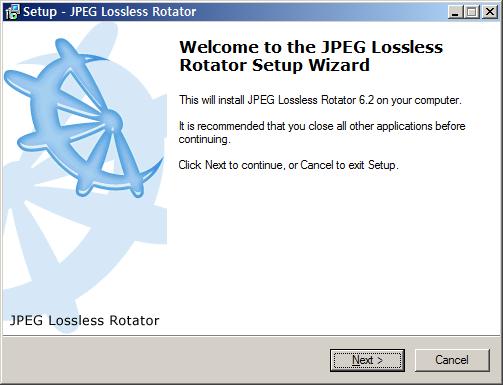 JPEG Lossless Rotator