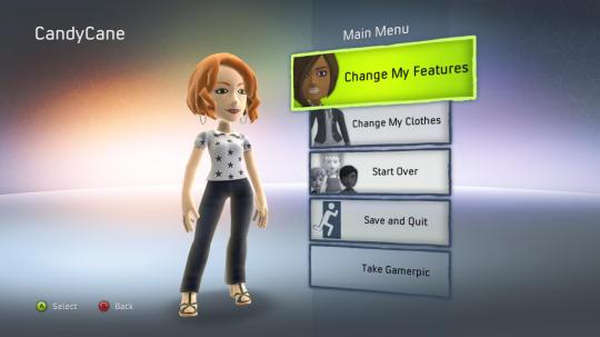 """마이크로소프트의 """"New Xbox Experience"""" 아바타"""