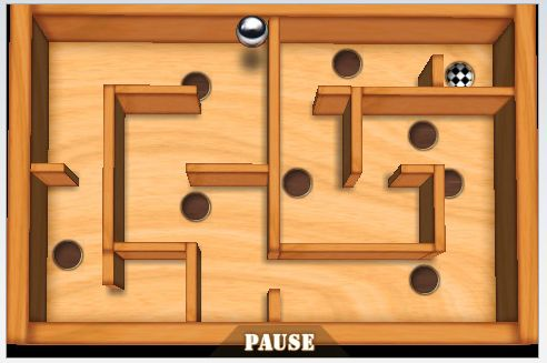 Wooden Labyrinth 3D on iPhone
