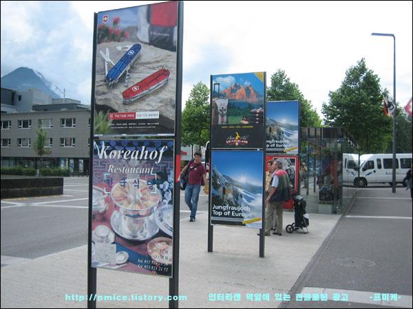 알프스를 넘어서 스위스로~!! 인터라켄, 취리히 (유럽 배낭 여행)