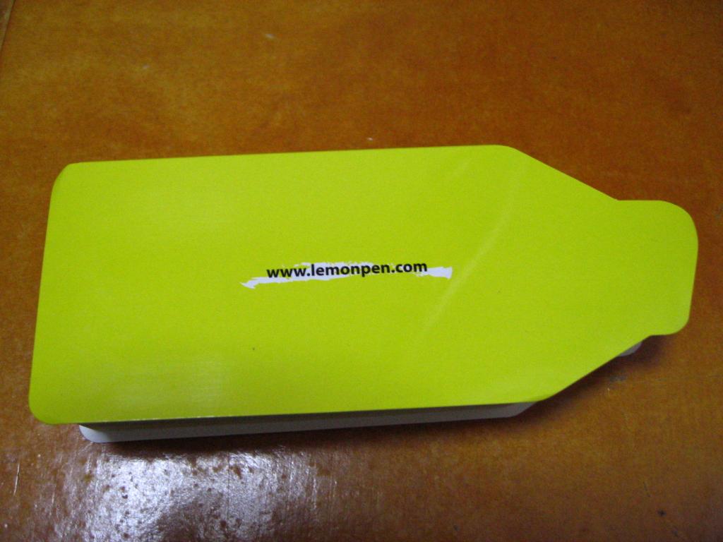 레몬펜 포스트잇