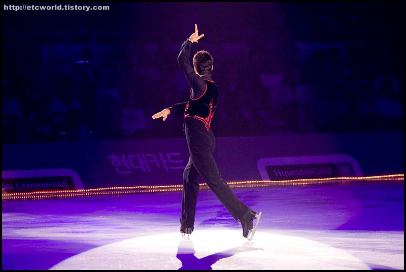 '현대카드슈퍼매치 Ⅶ - '08 Superstars on Ice'에 참가한 스테판 랑비엘 (Stephane Lambiel)