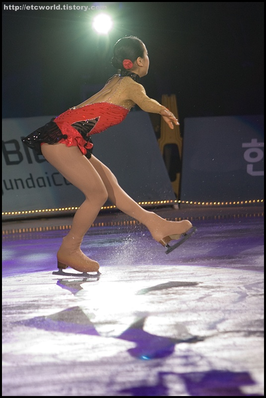 '현대카드슈퍼매치 Ⅶ - '08 Superstars on Ice' 에 참가한 일본의 아사다 마오 (Mao ASADA. 浅田真央)