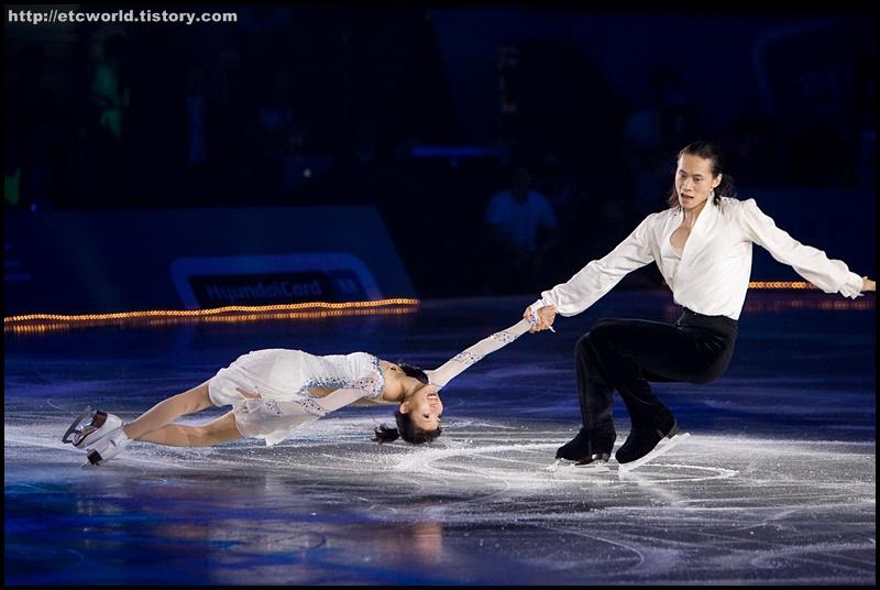 팡 칭 & 통 지안 (Qing PANG & Jian TONG) '현대카드슈퍼매치 Ⅶ - '08 Superstars on Ice' 2부.