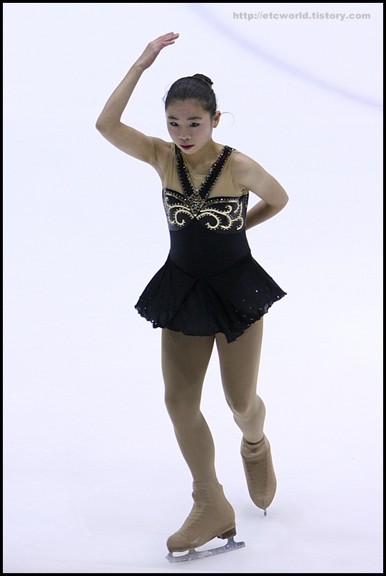 2008 전국남녀 회장배 피겨 스케이팅 랭킹대회 여자싱글 최다혜 선수의 FS