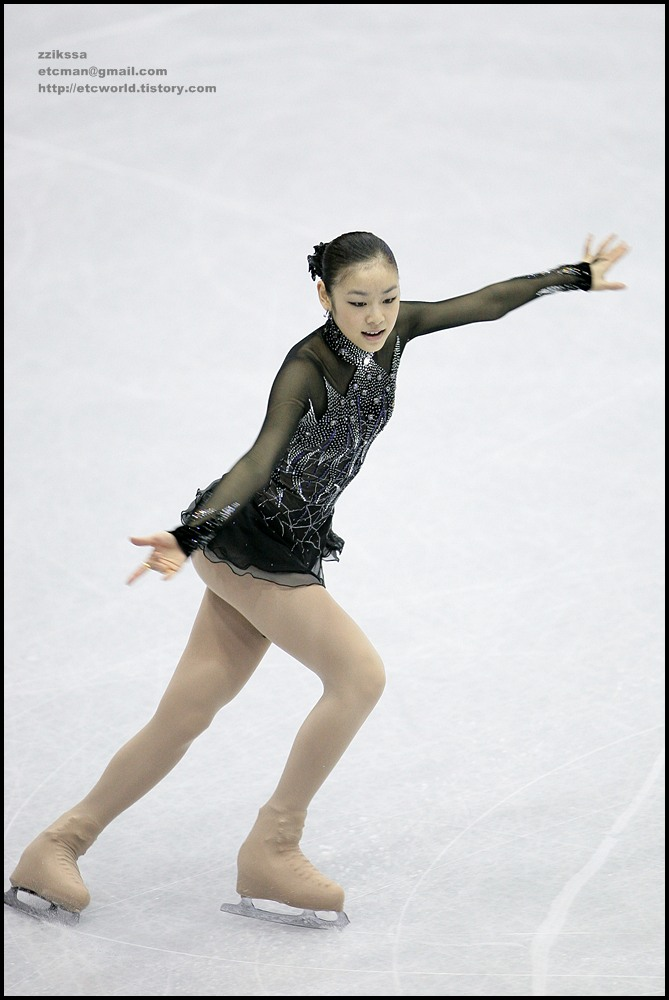 Yu-Na KIM (김연아) at 'SBS ISU Grand Prix of Figure Skating Final Goyang Korea 2008/2009' Senior Women - Short Program
